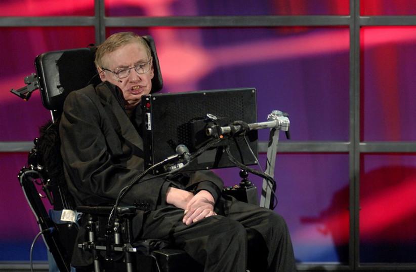 Stephen Hawking in 2010 (photo credit: REUTERS)