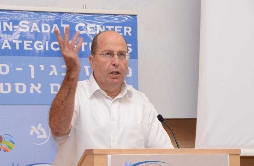 Defense Minister Moshe Ya'alon (photo credit: MESHULAM LEVY, BESA CENTER)