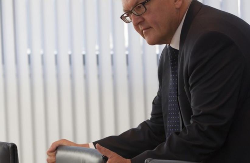 Frank-Walter Steinmeier (photo credit: REUTERS)