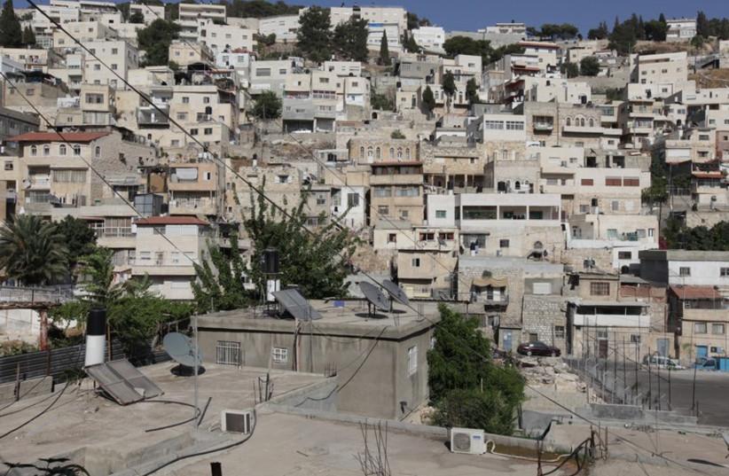East Jerusalem's Silwan neighborhood (photo credit: MARC ISRAEL SELLEM/THE JERUSALEM POST)