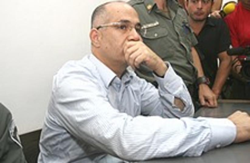 Boaz Yona in court 224.88 (photo credit: Ariel Jerozolimski)