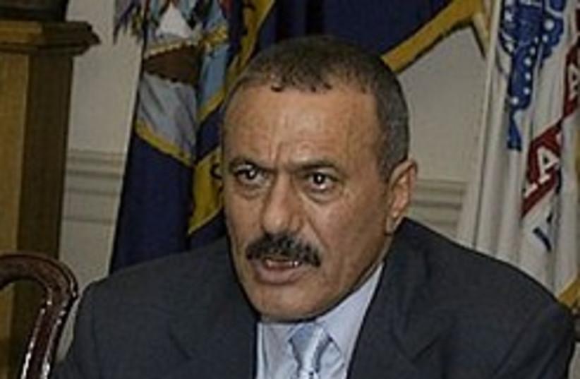 Ali Abdullah Saleh yemen 248 88 (photo credit: Courtesy)