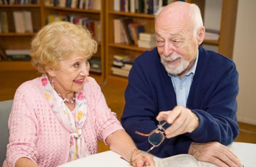 Elderly couple (illustrative) (photo credit: INGIMAGE)