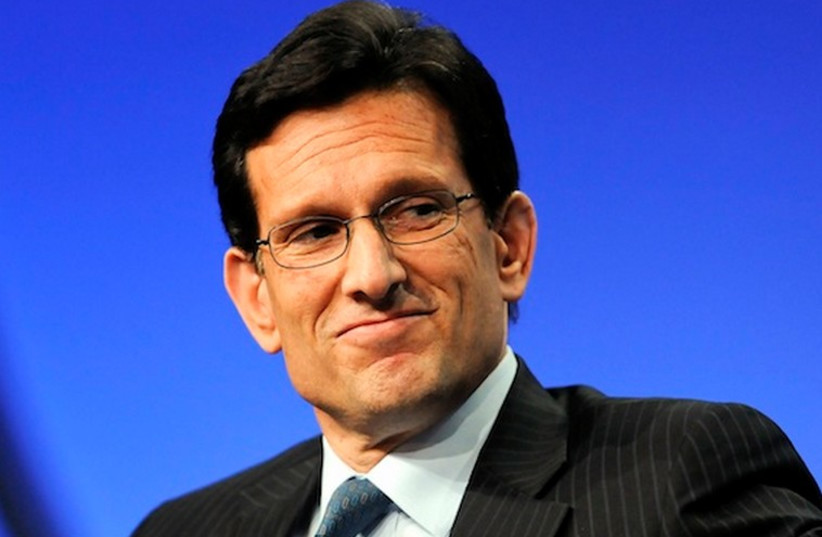 Eric Cantor (photo credit: REUTERS)
