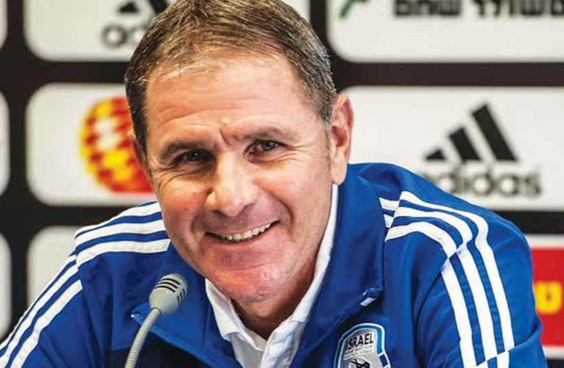 Israel's national team coach Eli Gutman (photo credit: ASAF KLIGER)