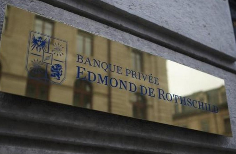 A logo of Banque Privee Edmond de Rothschild (photo credit: REUTERS)