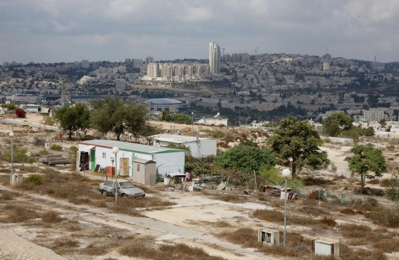 Plans are under way to build new homes in Givat Hamatos, a diplomatically sensitive area of southeast Jerusalem over the Green Line (photo credit: MARC ISRAEL SELLEM)