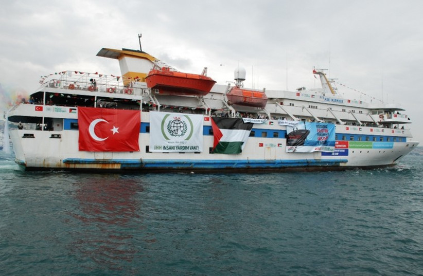 The Turkish ship Mavi Marmara (photo credit: Wikimedia Commons)