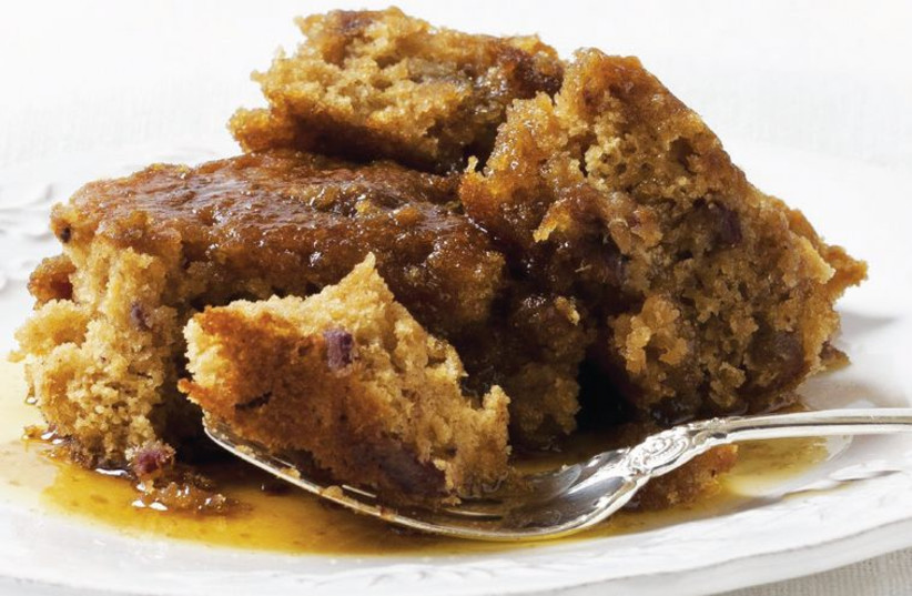 Sticky toffee pudding (photo credit: MICHAEL BENNETT KRESS)