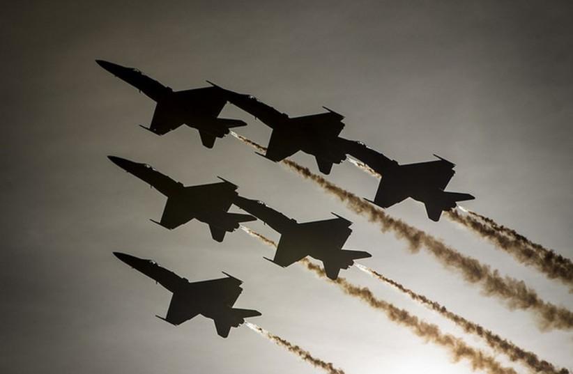 US Navy aircraft (photo credit: US DEPARTMENT OF DEFENSE)