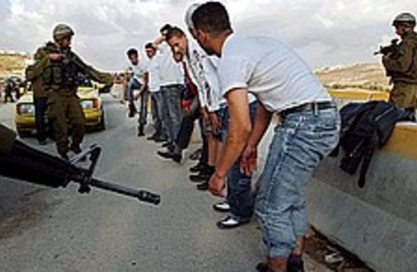 hawara checkpoint idf 224 88 (photo credit: AP [file])