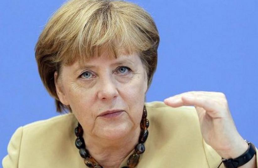 German Chancellor Angela Merkel (photo credit: REUTERS)