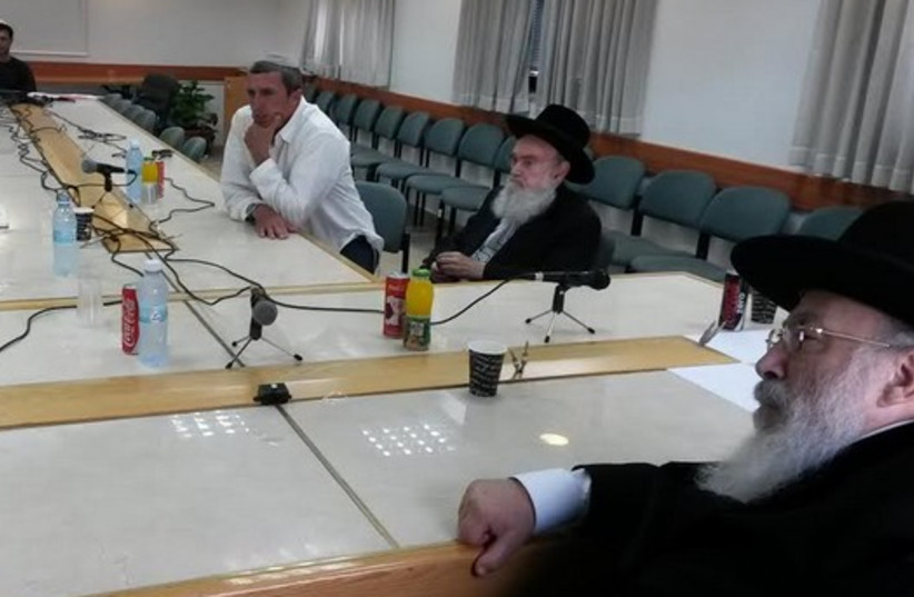 The rabbis of the Council of the Chief Rabbinate (photo credit: CHIEF RABBINATE)