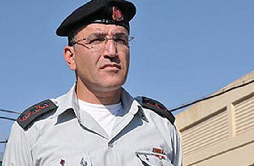 Dr. Salman Zarka (photo credit: IDF SPOKESPERSON'S UNIT)