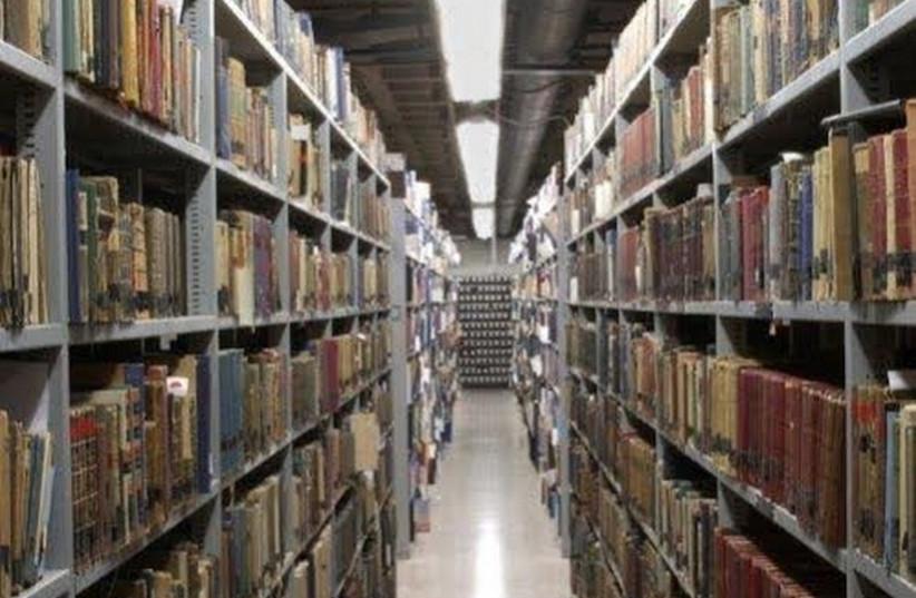 Books (photo credit: HANAN COHEN)