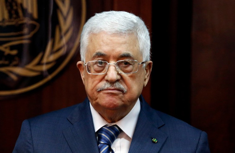 Palestinian Authority President Mahmoud Abbas. (photo credit: REUTERS)