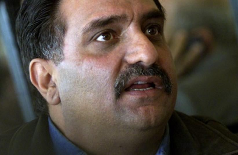 Former Balad MK Azmi Bishara (photo credit: TWITTER)