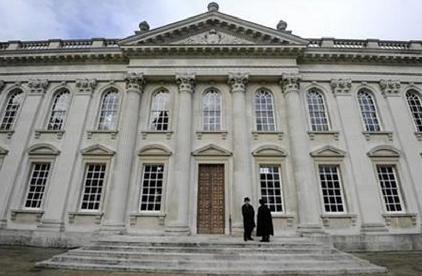 Building at Cambridge University in England. (photo credit: REUTERS)