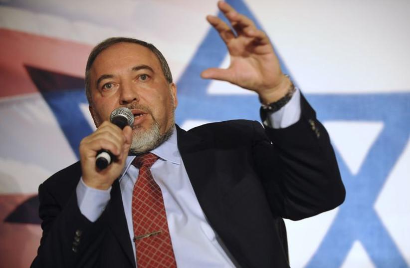 Avigdor Liberman (photo credit: REUTERS)