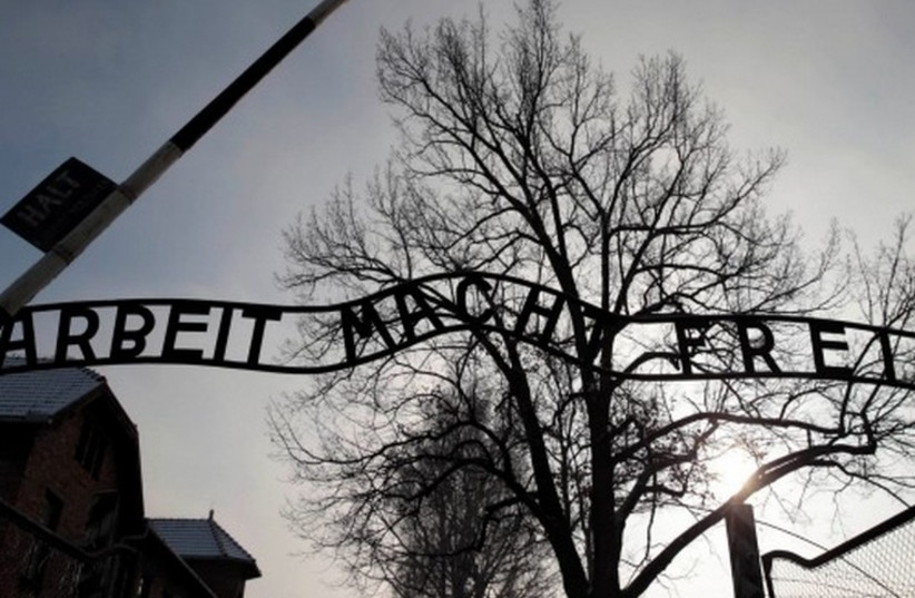 The entrance to the Auschwitz death camp (photo credit: REUTERS)