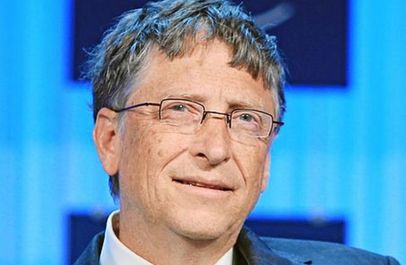 Bill Gates (photo credit: WORLD ECONOMIC FORUM/WIKIMEDIA COMMONS)