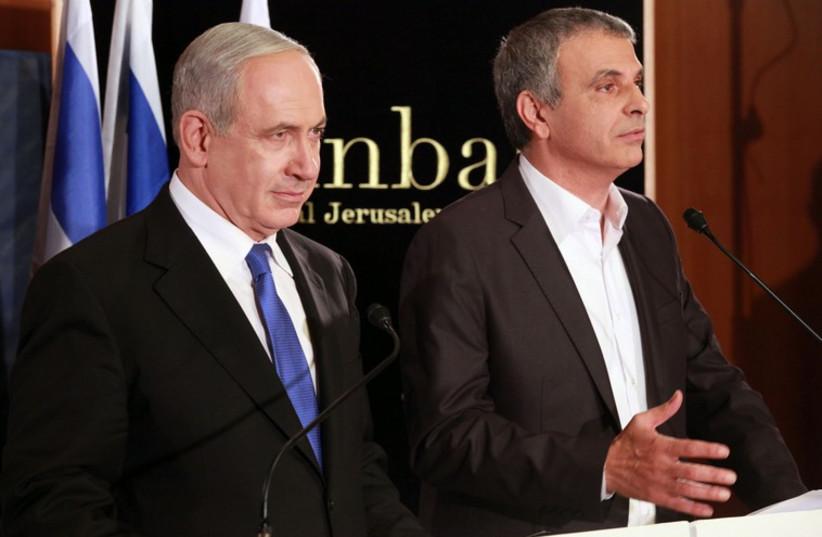 Moshe Kahlon and Prime Minister Benjamin Netanyahu [File] (photo credit: MARC ISRAEL SELLEM)