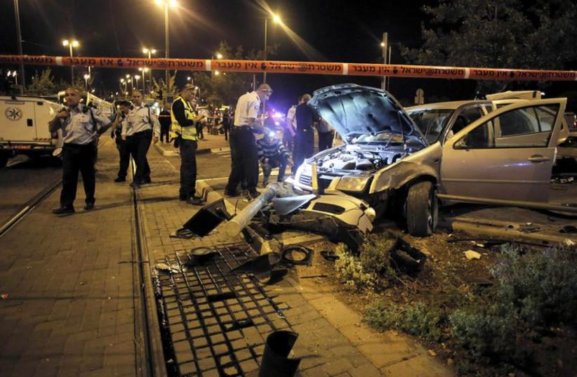 Terror attack in Jerusalem (photo credit: REUTERS)