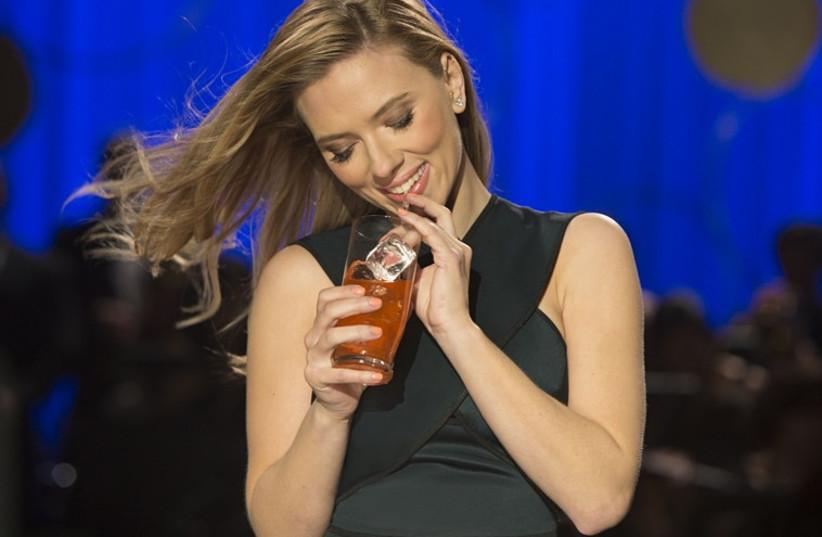 SodaStream pitchwoman Scarlett Johansson (photo credit: Courtesy)