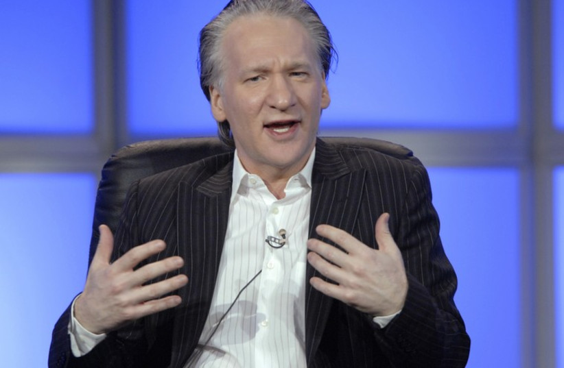 US television personality Bill Maher (photo credit: REUTERS)