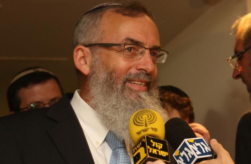Rabbi David Stav (photo credit: MARC ISRAEL SELLEM)