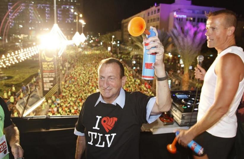 2014 Tel Aviv Night Run.  (photo credit: GUY YEHIELI)