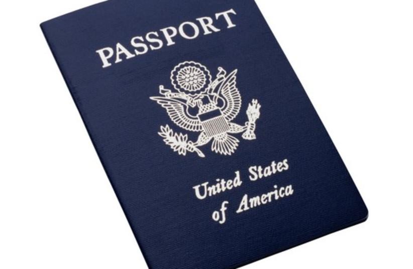 US passport [Illustrative] (photo credit: INGIMAGE)