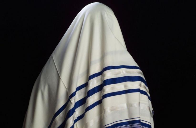 Tallit (prayer shawl) (photo credit: INGIMAGE)