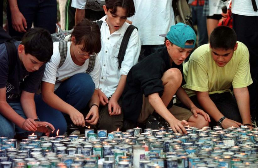 Yitzhak Rabin was assassinated on November 4, 1995 (photo credit: REUTERS)