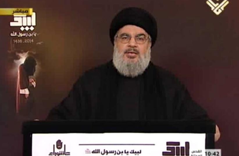 Hezbollah leader Hassan Nasrallah (photo credit: ALMANAR)