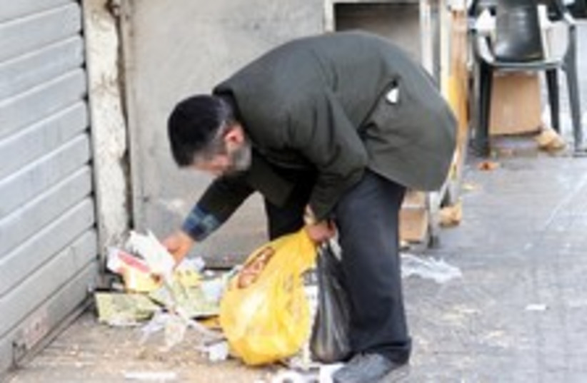 poverty garbage jerusalem 224  (photo credit: Ariel Jerozolimksi [file])