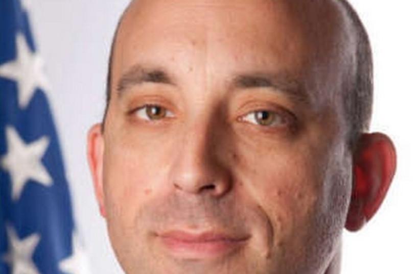 Jonathan Greenblatt (R) will succeed Abraham Foxman (L) as national-director of the ADL. (photo credit: JTA)