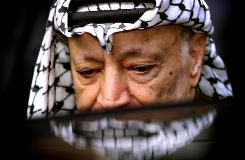 Late Palestinian leader Yasser Arafat (photo credit: REUTERS)