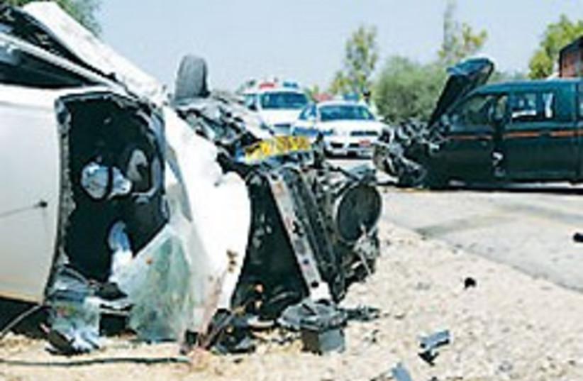 car accident 88 224 aj (photo credit: Ariel Jerozolimski [file])