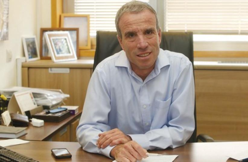 Elazar Stern (photo credit: MARC ISRAEL SELLEM/THE JERUSALEM POST)