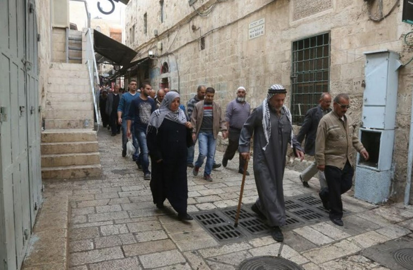Jerusalem's Old City, November 14,2014 (photo credit: MARC ISRAEL SELLEM/THE JERUSALEM POST)