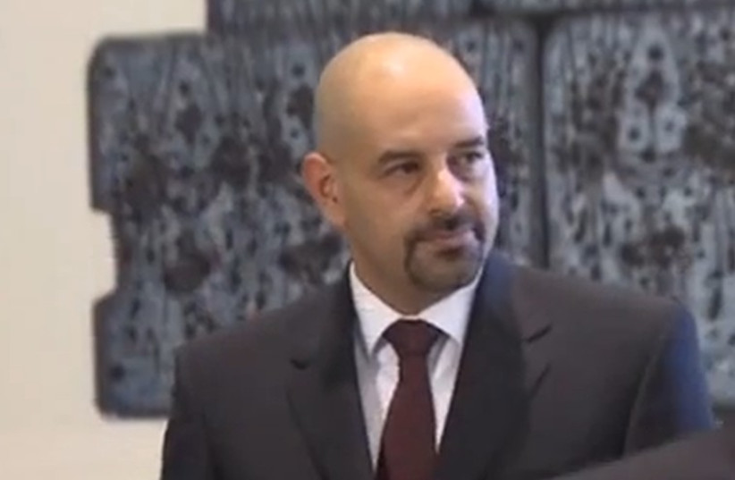Jordan's recalled ambassador to Israel, Walid Obeidat (photo credit: screenshot)