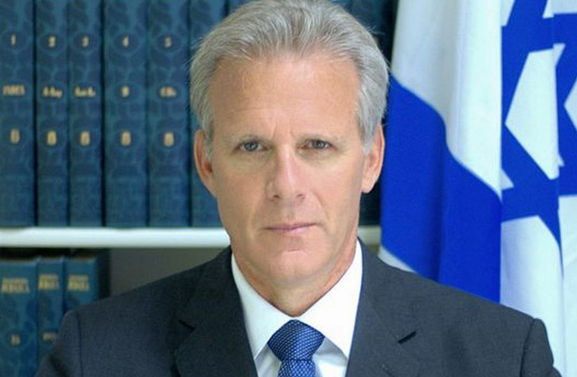 Former ambassador to the US Michael Oren (photo credit: WIKIMEDIA COMMONS/ANNE MANDLEBAUM)