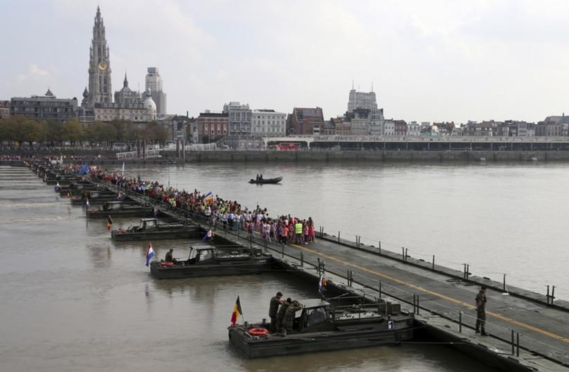 Antwerp, Belgium (photo credit: REUTERS)