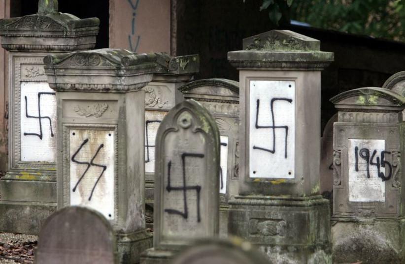 Anti-semitism (photo credit: REUTERS)