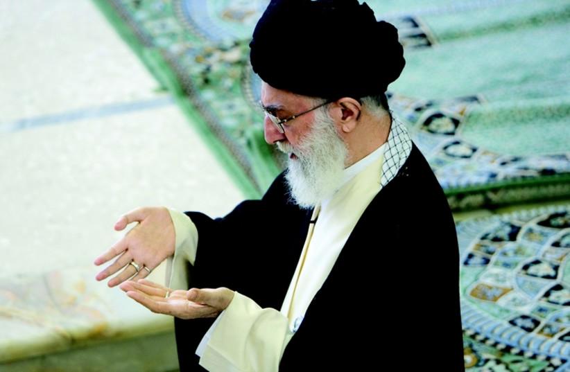 Ali Khamenei (photo credit: REUTERS)