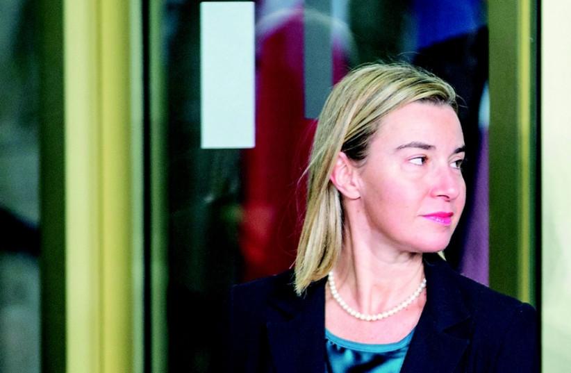 Federica Mogherini. (photo credit: REUTERS)