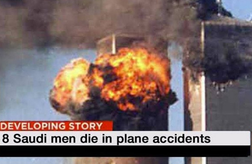 Meme parodying CNN's overly-neutral headlines (photo credit: SOCIAL MEDIA)