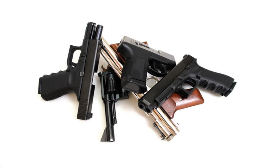 Guns (photo credit: INGIMAGE)
