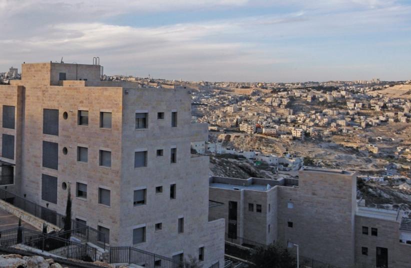 Apartment blocks in Nof Zion. (photo credit: REUTERS)